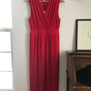 ANTHROPOLOGIE Tracy Reese Pleated Midi Dress